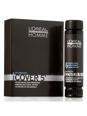 Loreal Homme Cover 5 - Nuance 4 in mittelbraun 50ml