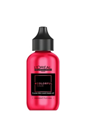 L'Oréal Professionnel Flash Pro Hair Make Up Midnight Fuchsia 60 ml