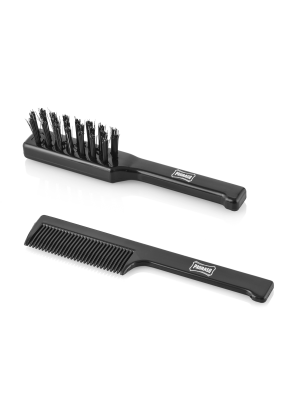 Moustache Brush Set
