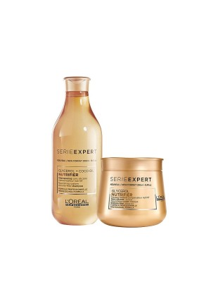 L'Oréal Color Celebration Set – Nutrifier – Shampoo + Maske