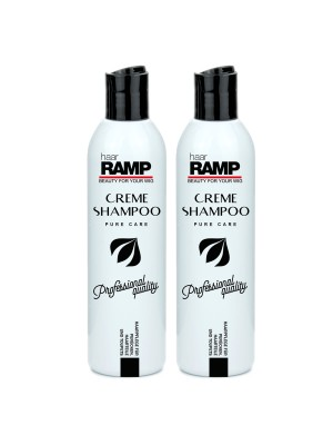 HaarRamp Perücken-Pflege - Creme Shampoo Set DUO