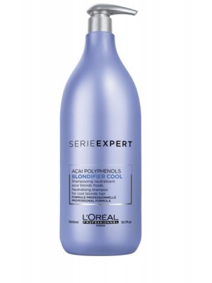 SERIE EXPERT BLONDIFIER Cool Shampoo, 1500 ml