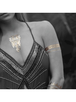 Tassel Gold & Silber Tattoos  - Aegean Summer