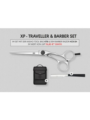 Kasho - XP Traveller & Barber Set 6,5""