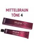L´Oréal Professionnel - Majirel Haarfarbe mittelbraun 4 - 50 ml